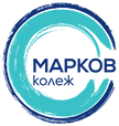 Markov college Blue logo BG.PNG