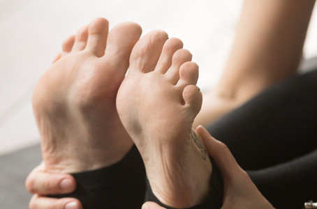 How To Avoid Cuts Under the Big Toe in Yoga