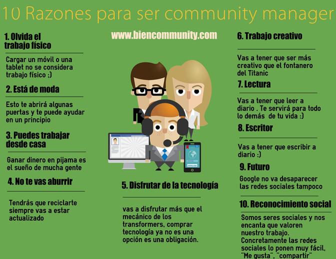 10 razones para ser community manager