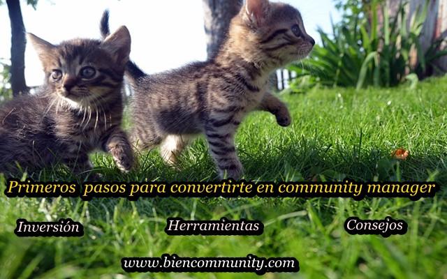 Primeros pasos para convertirte en community manager
