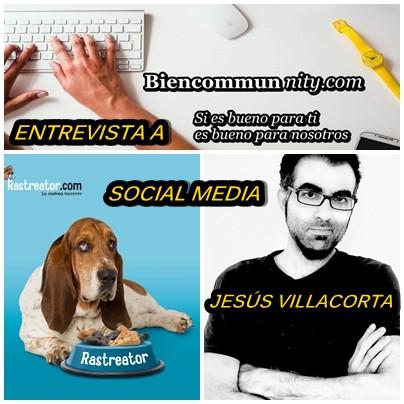 Entrevista a Jesús Villacorta  SMM de Rastreator