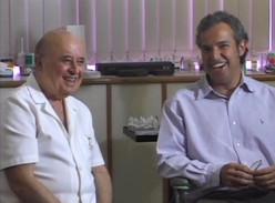Dr. Raphael e Dr. Sergio Benchimol