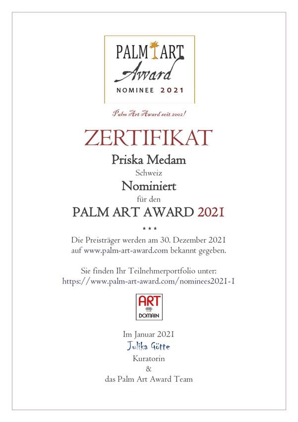 PALM ART AWARD 2021