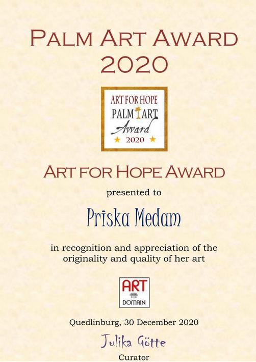 PALM ART AWARD 2020