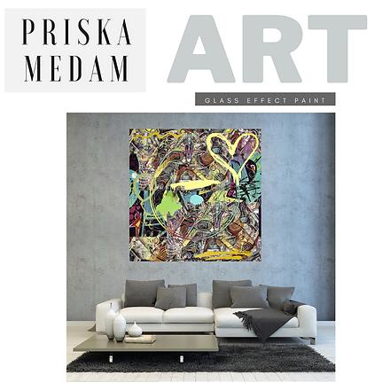 GRAFFITI-STYLE by Priska Medam Art & Design