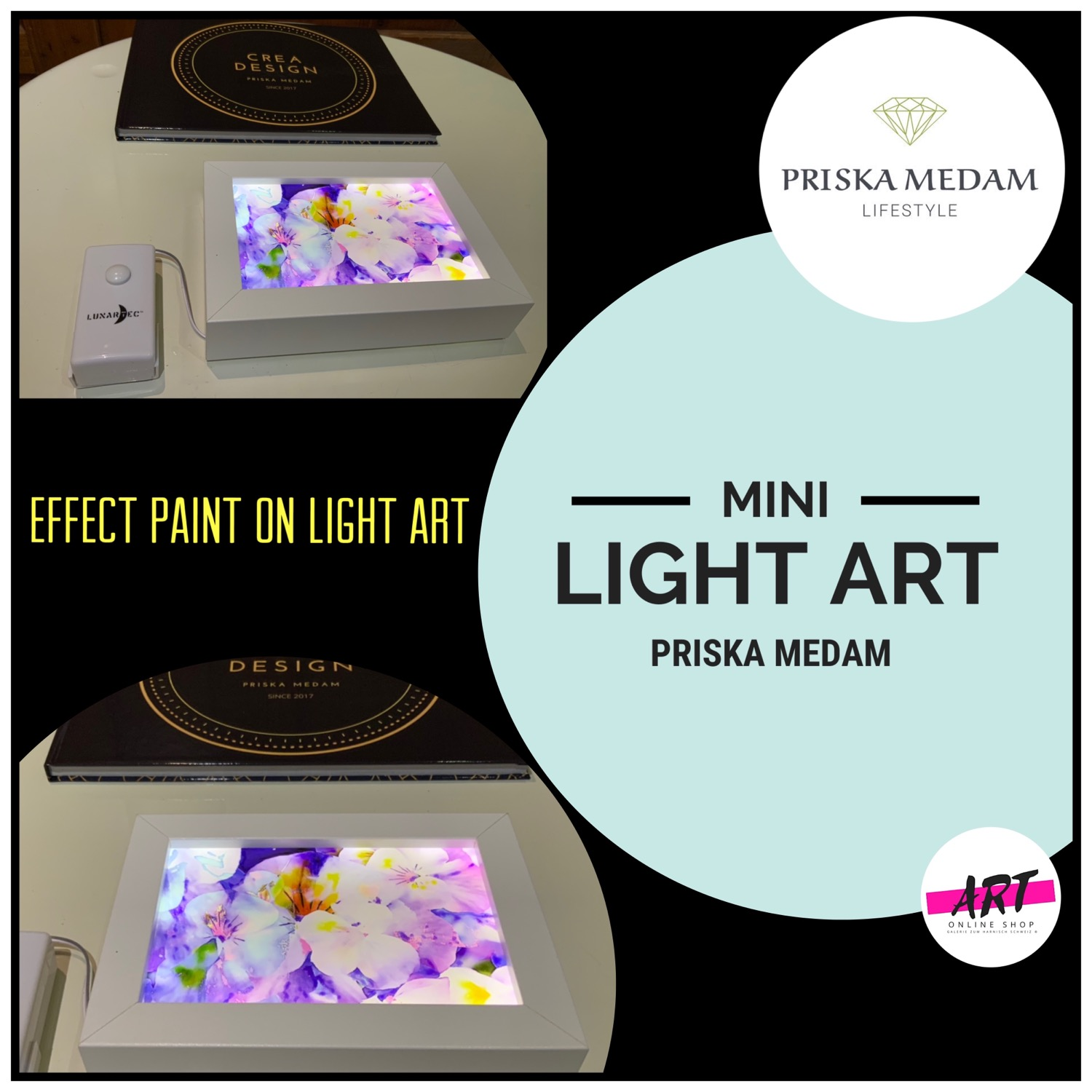 EFFECT PAINT & LIGHT ART