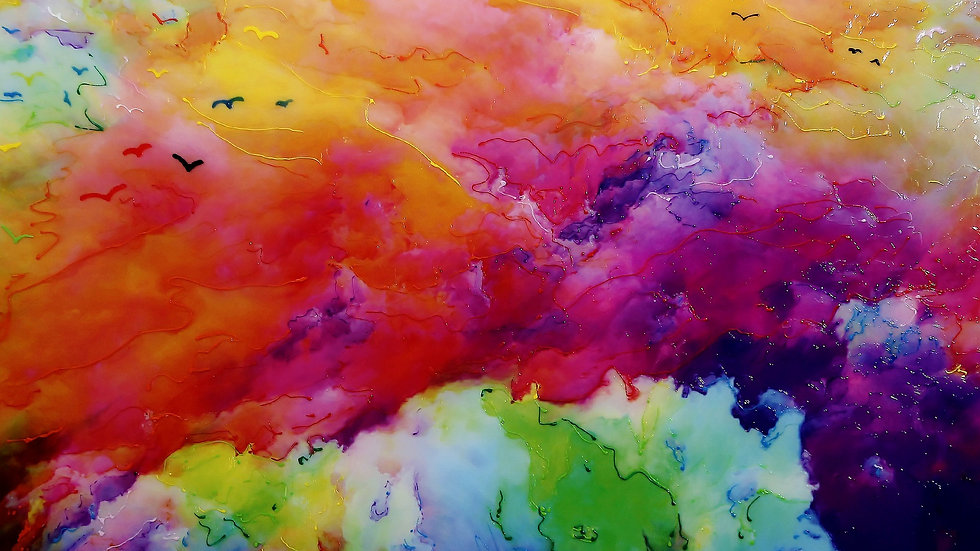 SKY IN THE SEA OF COLORS