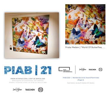 Nominee PIAB 21 Priska Medam