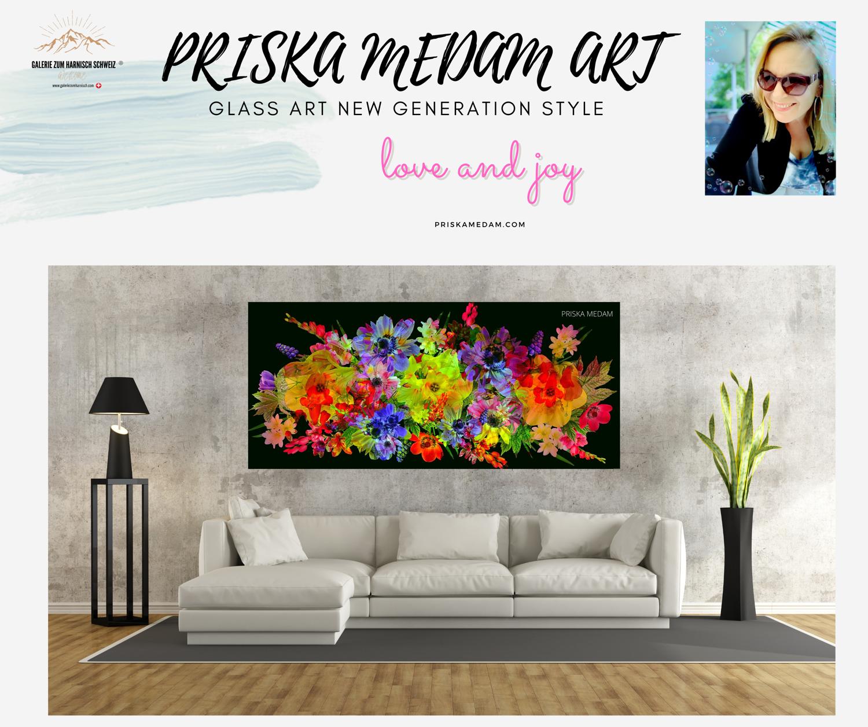 PRISKA MEDAM GLASS ART