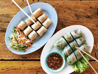 Thai Spring Rolls- A Perfect Holiday Appetizer