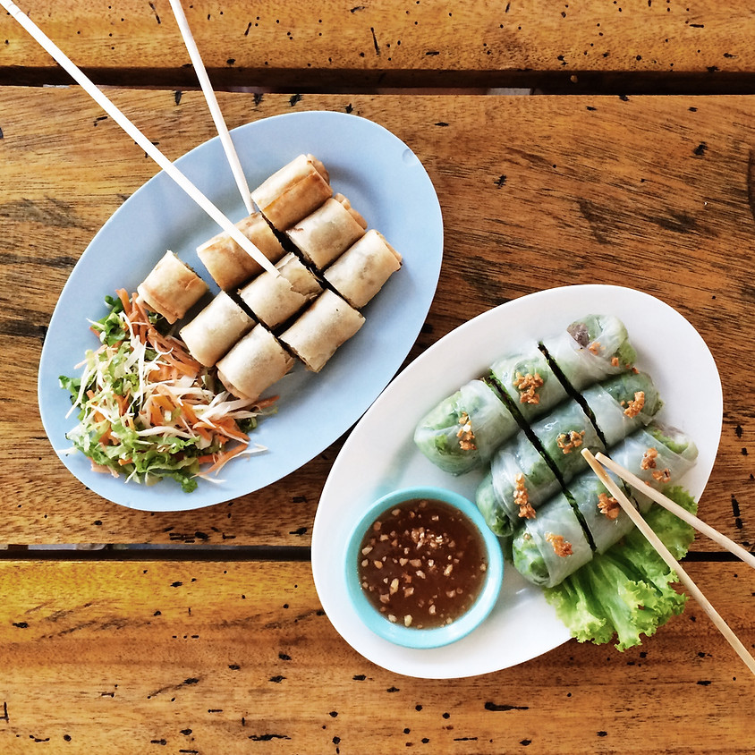 Virtual Kids & Teens: Thai Spring Rolls ~ 4:30 pm