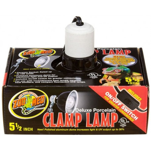 """Clamp Lamp - 5.5"""" (Zoo Med)"""