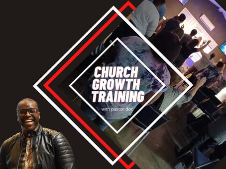 Church Growth Training Pt One