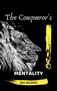 THE CONQUERORS MENTALITY BOOK COVER FRON