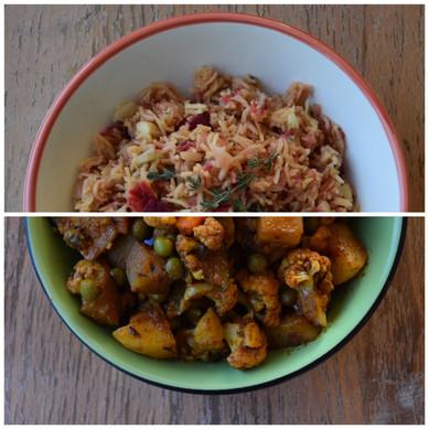אורז ירקות שורש-MIX VEG