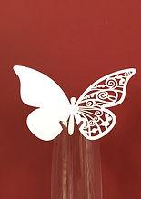 10 pz Segna Bicchiere Farfalla
