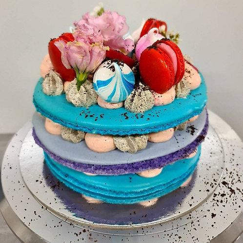 20cm Simple Macaron Cake