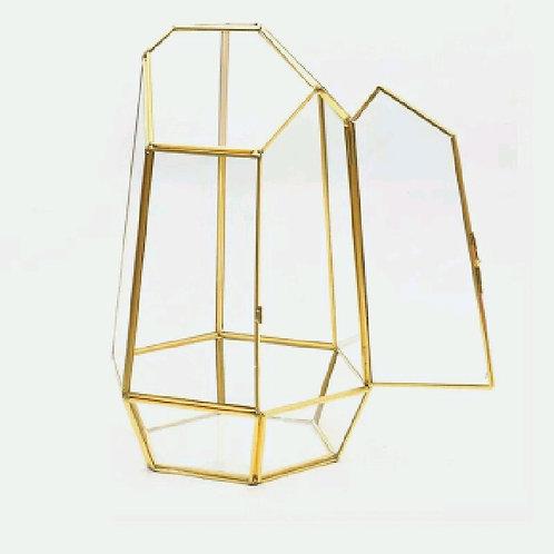 geometric terrarium empty