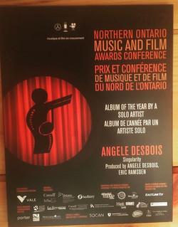 NOMFA award