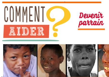 Parrainage Comment nous aider Enfants des rues Orphelinat Parrainage