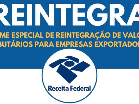 Benefício do REINTEGRA é reajustado em 2017 para 2%