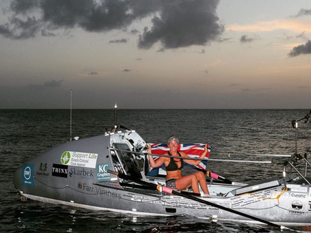 Kiko Matthews - world record-breaking fastest woman to solo row to the Atlantic. A chat with this &#
