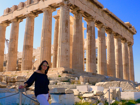 Athens - the eye of Greece, mother of arts and eloquence.