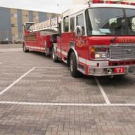 Oakland Fire Station Green Infrastructure Parking