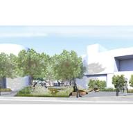 Alexander Valley Wellness Center Courtyard Design