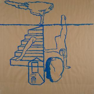 Memory Drawings, 85x85 cm,2002