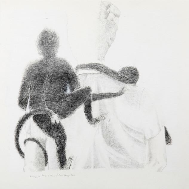 Animal of the Artists, 26x22 cm, 2017