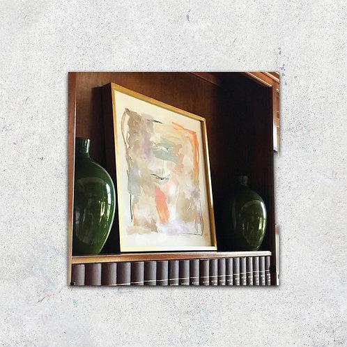 Abstracto Pastel I