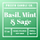 Thumbnail: Basil, Mint & Sage