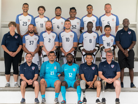 The 2018 United States Amputee Soccer Team