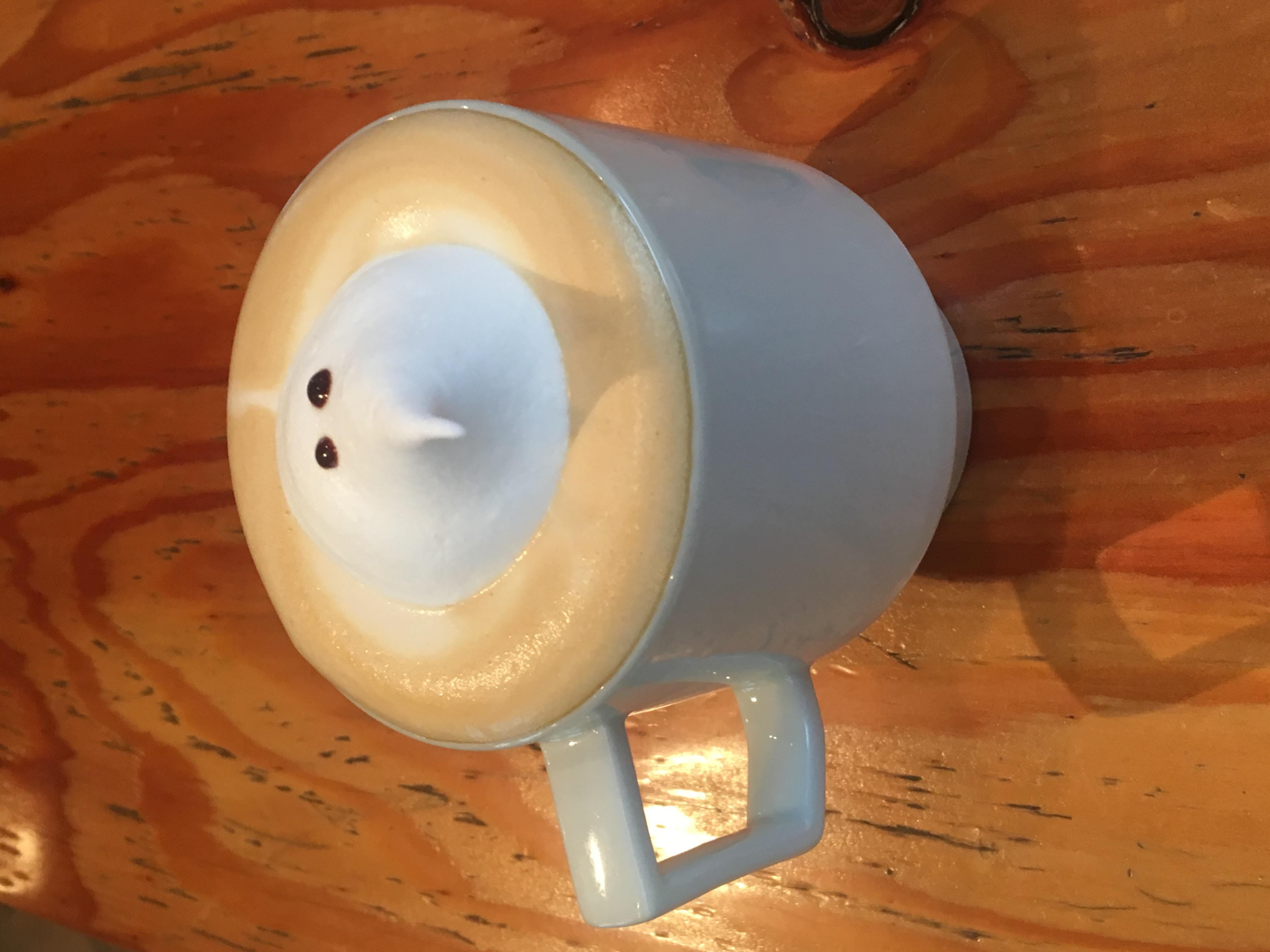 Ghost latte