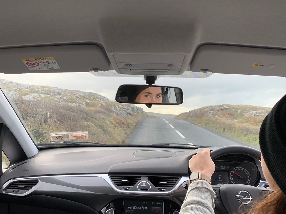 Christine was our fearless driver to the Cliffs of Moher along the Wild Atlantic Way.