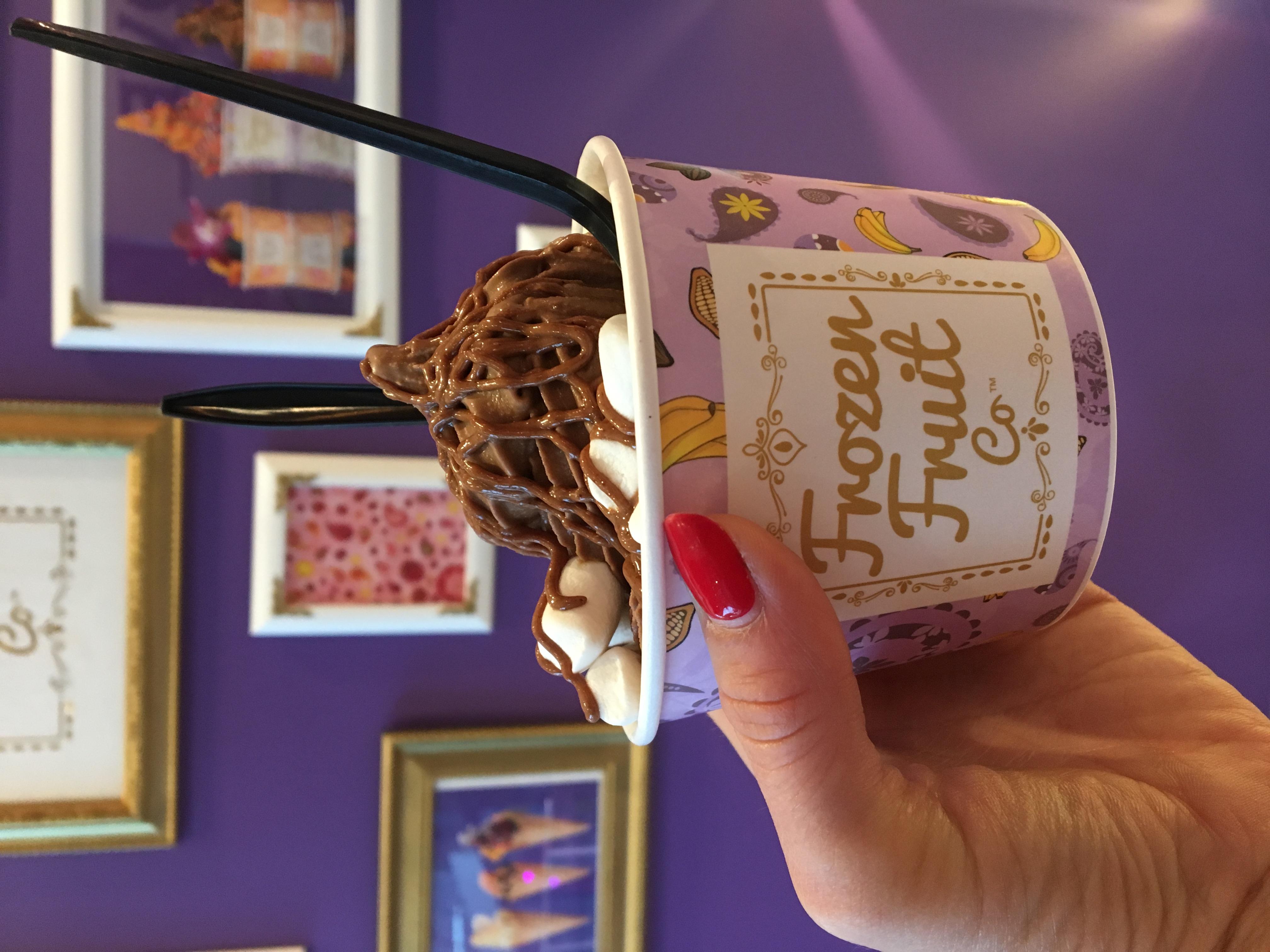 Vegan date ice cream