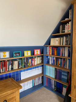 Sloping Bookcase