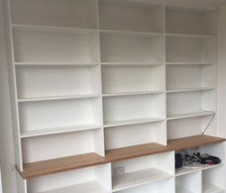 Bookcase with shelving