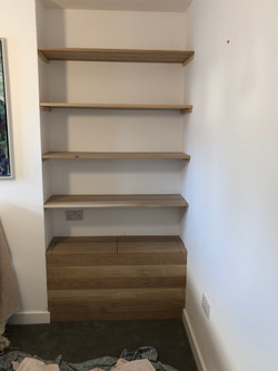 Bookcase and Storage