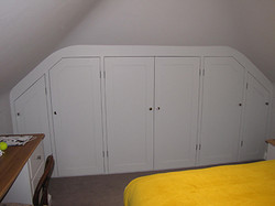 Sloping Ceiling Cupboards