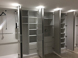 Full wall wardrobe