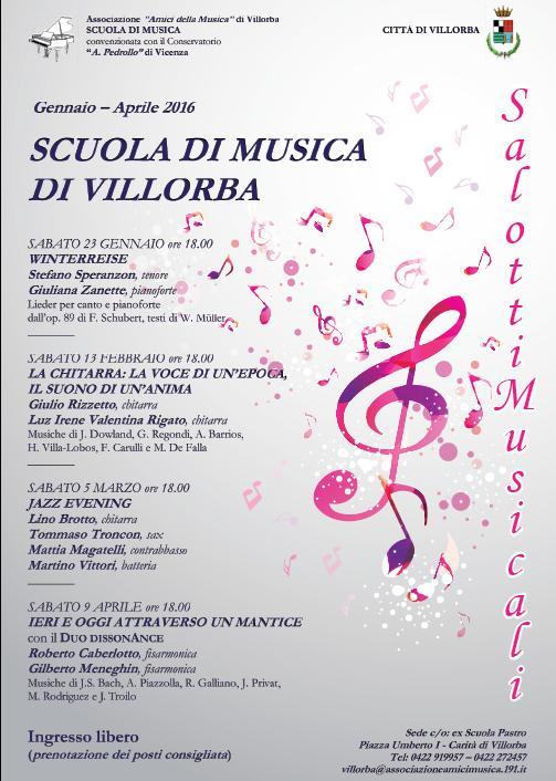 Salotti musicali 2016