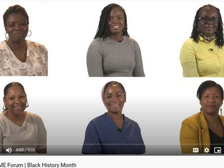 GOSH BAME Forum on Black History Month