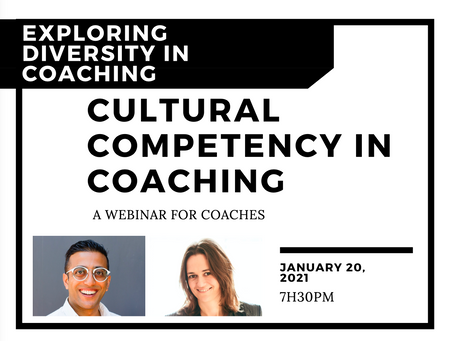 Cultural competency in coaching