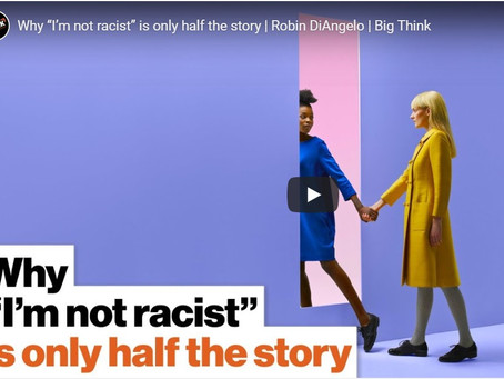 An eloquent explanation of structural racism by Robin diAngelo