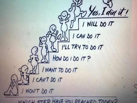 Which step have you reached today?