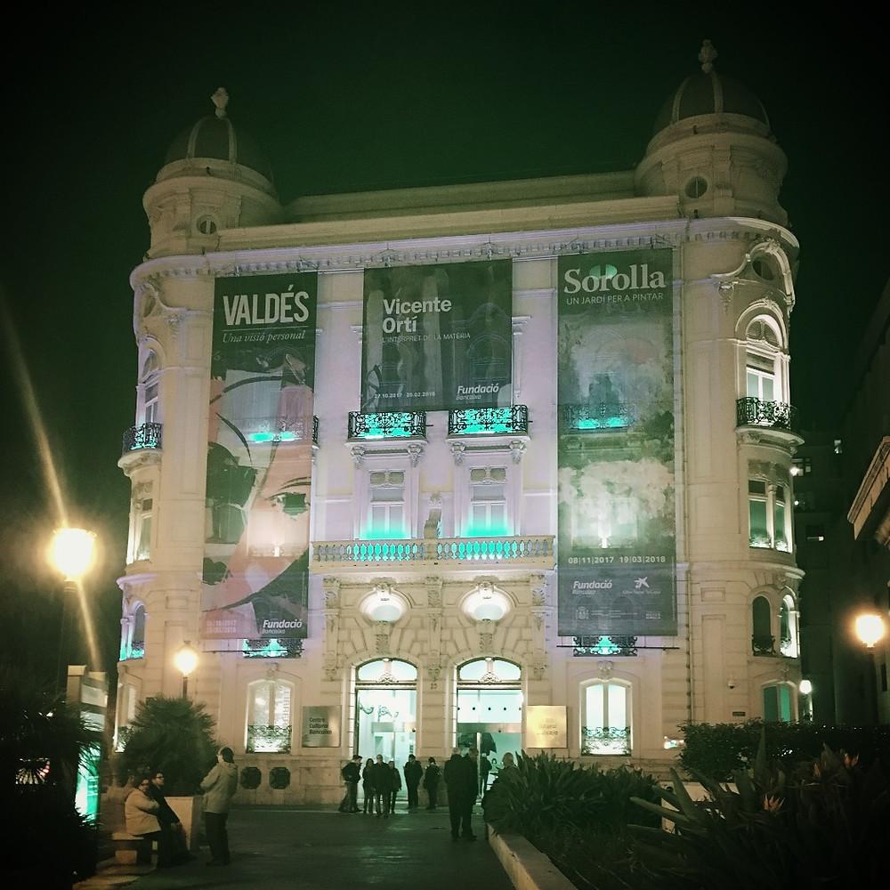 Centro Cultural Bancaja in Valencia