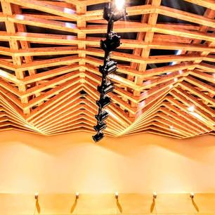 特徴的な天井