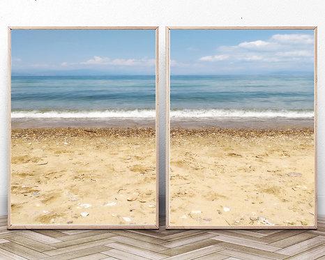 Coastal Wall Decor,Digital Download,Beach Wall Art,Blue Water Print,